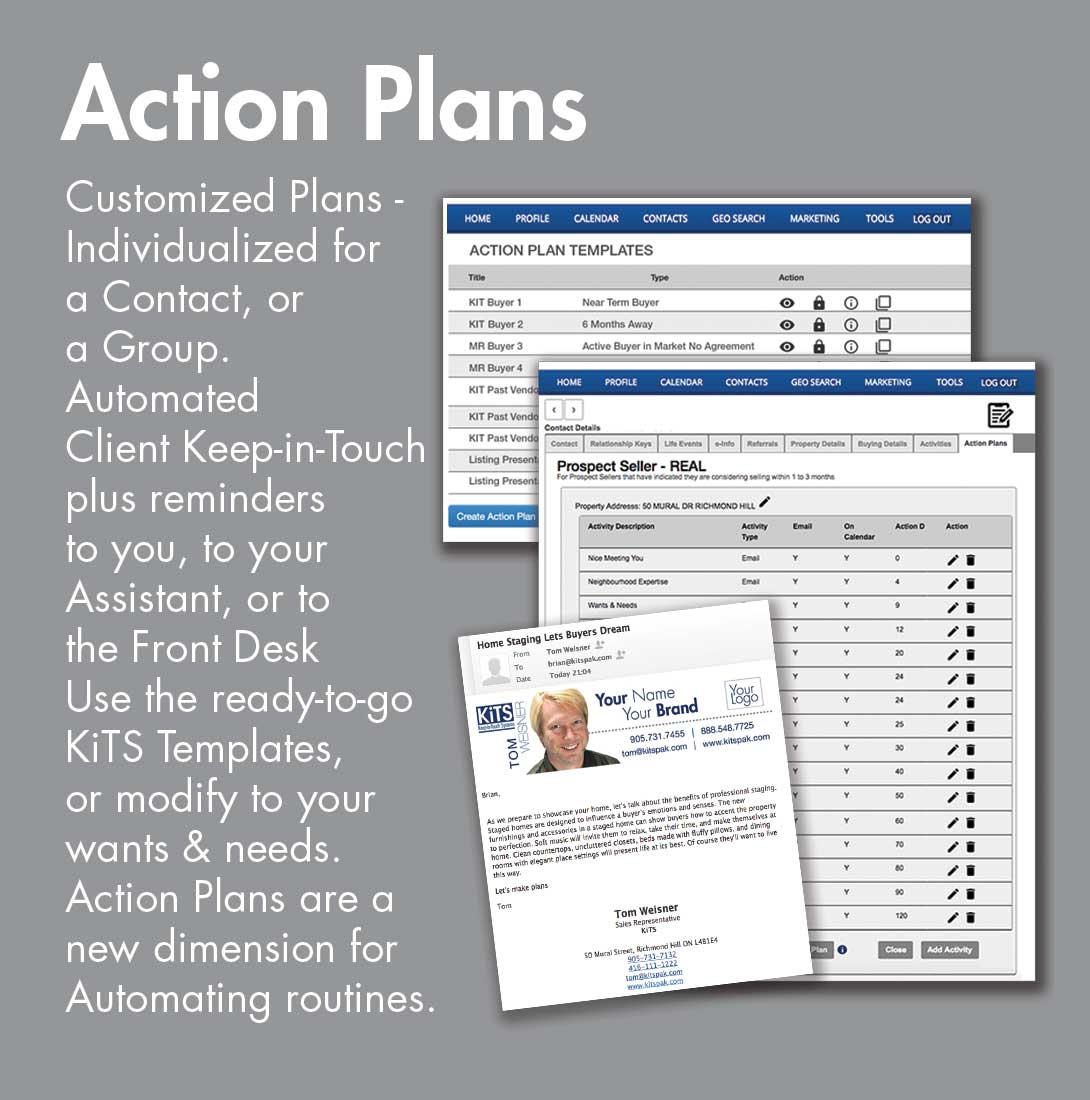 Action Plans for KiTS Realtor Members