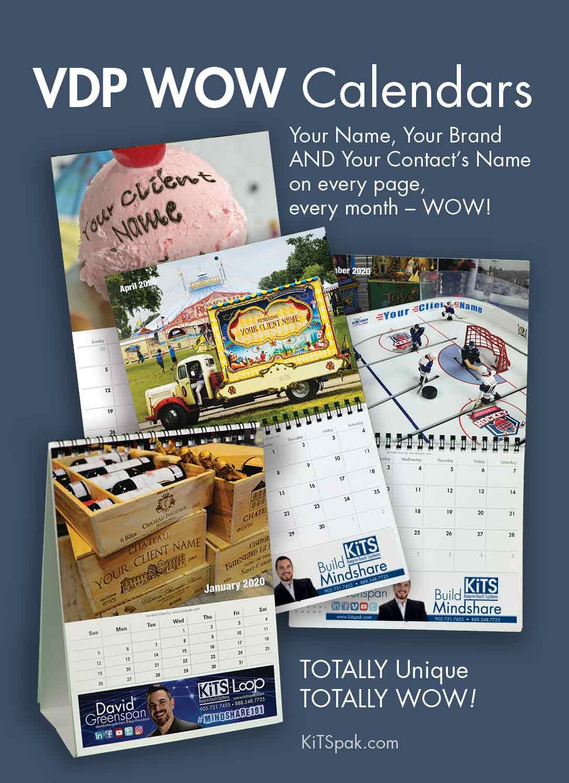 WOW VDP Calendar by KiTS